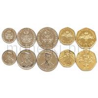 Гаити 5 монет 1995-2011 годов (XF-UNC)