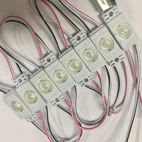 БЕЛЫЕ 2835 ((цена за 4 шт)) светодиодный модули 0,36 Вт. 12 Вольт. Аналог светодиодной ленты