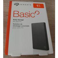 """Внешний жесткий диск 2.5"""" Seagate 1Tb USB3.0, черный."""