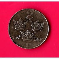 15-09 Швеция 2 эре 1950 г.