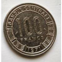 Республика Конго 100 франков, 1971 3-1-29