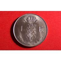 1 франк 1977 - BELGIE. Бельгия. Отличный сохран!