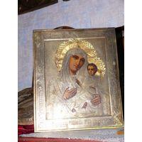 Икона Тихвинская Богородица .19 век.