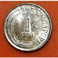 102-20 Сингапур, 1 цент 1982 г.