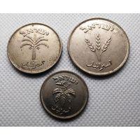 Израиль 3 монеты 1949 года. (50, 100 и 250 прут)