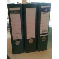 Папка регистратор А4 с арочным механизмом ПВХ 75 мм. НОВЫЕ (цена за 3 штуки)