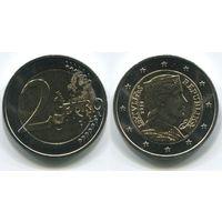 Латвия. 2 евро (2014, UNC)
