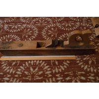 Фуганок деревянный, длина 60-62 см, легированная сталь. Ижевский инструментальный завод (Могу передать в Минск)