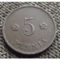 Финляндия. 5 пенни 1935