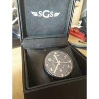 Часы SGS,лимитированная серия для основателей брэнда