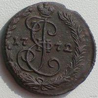 Россия, денга 1772 года, ЕМ