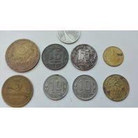 Монеты СССР! Девять монет одним лотом!