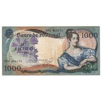 Португалия 1000 эскудо 1967 года. Большой номинал! Редкая!