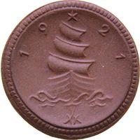 РАСПРОДАЖА!!! - ГЕРМАНИЯ САКСОНИЯ 1 марка 1921 год