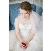 Шикарное свадебное платье на р. 42-44