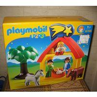 Конструктор Рождественские ясли Playmobil 6786 (Германия) Чемодан-коробка не вскрывался. В комплект входят и не вскрывались, по 55 р.  Конструктор Рождественские ясли Playmobil 6786 (Германия) В компл