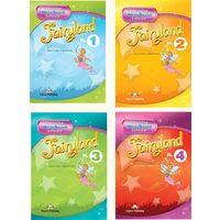 Fairyland 1 - 5. Итерактивный многоуровневый курс английского языка для детей (набор пособий) + Живые фразы английского языка