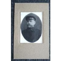 Фото мужчины. Витебск. 1927 г. 4х6 см.
