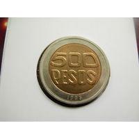 Колумбия 500 песо 1995 КМ#286
