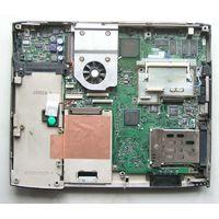 Материнская плата с процессором и памятью от ноутбука TOSHIBA satellite 2755dvd