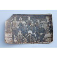 Интересная фотография военнослужащих РИА.