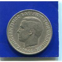 Греция 1 драхма 1966
