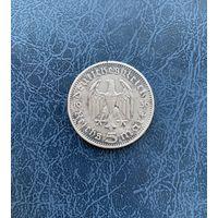 Германия 5 марок 1936 D