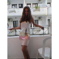 Шикарное клубное платье бюстье  р. 50-52