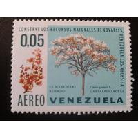 Венесуэла 1969 дерево