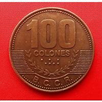 03-11 Коста-Рика, 100 колон 2007 г.