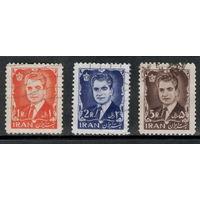 Иран /1964/Шах Мохаммед Рези Пехлеви. / 3 марки