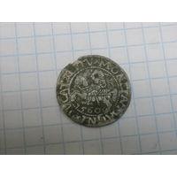 Полугрош 1560 год в сохране