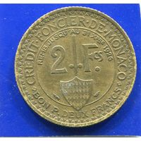 Монако 2 франка 1924