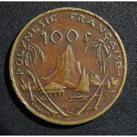 Французская Полинезия 100 франков 1976 г.