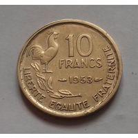 10 франков, Франция 1953 г.