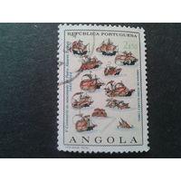 Ангола, колония Португалии 1968 корабли адмирала Кабрала