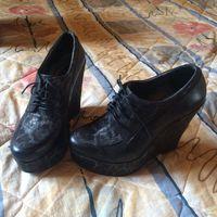 Modus Vivendi ботильоны кожаные, размер 35-36 (на ботинках указан размер 37). Длина сельки 23.5см, были куплены за $180.