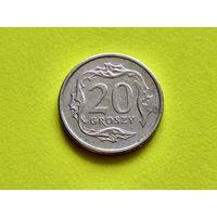Польша. 20 грошей 1991.