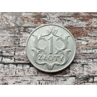 Польша. 1 злотый 1929. (2).