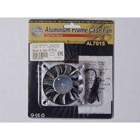 Мощный вентилятор кулер в алюминиевом корпусе (3 pin)