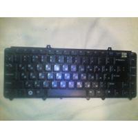 Клавиатура ноутбука OP446J Dell Keyboard 1545 Black RU