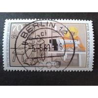 Берлин 1986 профессия-швея Михель-2,4 евро гаш.