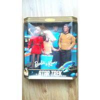 Набор Барби и Кен, Star Trek Barbie And Ken Gift Set 30th Anniversary 1996