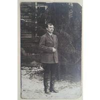 Фото мужчины. 1920-е. 9х14 см.