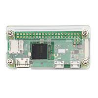 Акриловый корпус для Raspberry Pi Zero W + радиатор