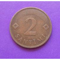 2 сантима 1992 Латвия #03