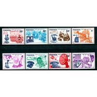 Руанда - 1976г. - Столетие первого телефонного звонка - полная серия, MNH [Mi 807-814] - 8 марок