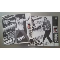 "Элвис Пресли. Elvis Presley. 2 LP. Коллекционное издание, Volume 1: ""Black And White Rock'n'Roll"", Volume 2: ""White Rock'n'Roll"""
