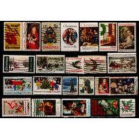 Сборный лот марок США