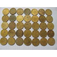 Монеты СССР 3 копейки , до реформы.35шт.
